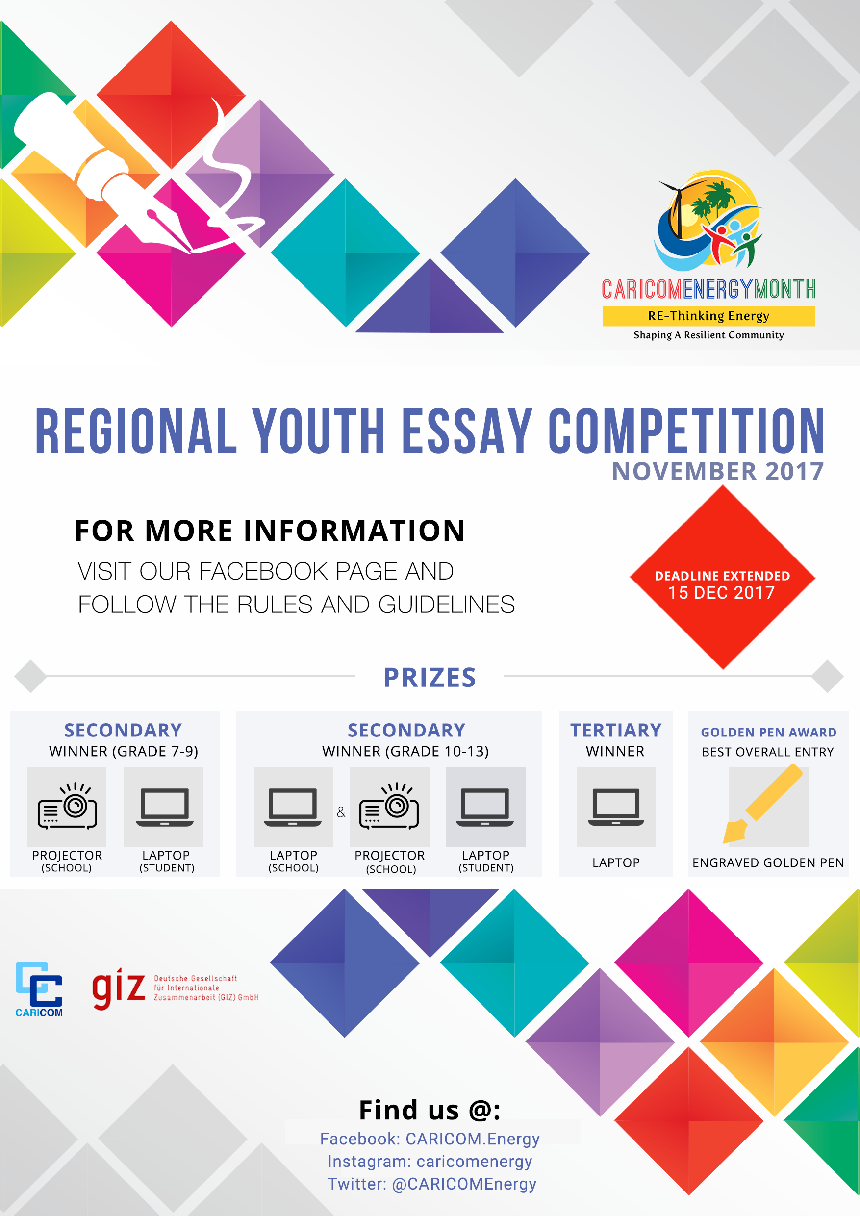 Essay Competition Poster Extension